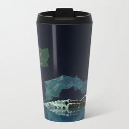Aurora Borealis Metal Travel Mug