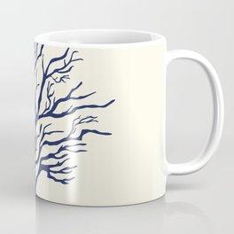 AFE Branch Coral, Navy Coffee Mug