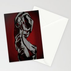Scratch My Back I'll Scratch Yours (bright red and blk) Stationery Cards
