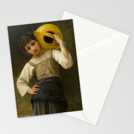 """William-Adolphe Bouguereau """"The Water Girl"""" Stationery Cards"""