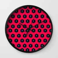 lighthouse Wall Clocks featuring Lighthouse by Mehdi Elkorchi