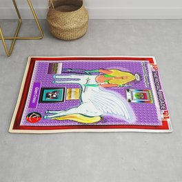 THE GOLD CHAMPION Rug