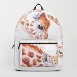 giraffe for people who like outdoors and wild animals  Backpack