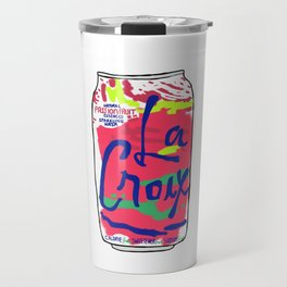 passionfruit La Croix or death Travel Mug