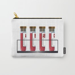 Blood Group Samples Carry-All Pouch