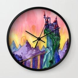 Castle Dracula Wall Clock