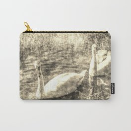 Swan Lake Vintage Carry-All Pouch