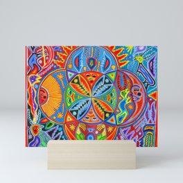 Huichol Mini Art Print