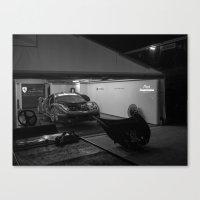 ferrari Canvas Prints featuring Ferrari by Trackography