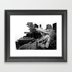 Intersection Framed Art Print