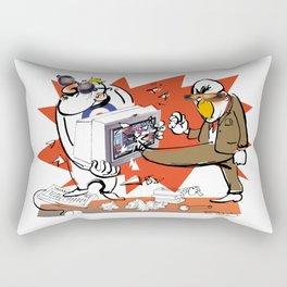 Bloody Computer Rectangular Pillow