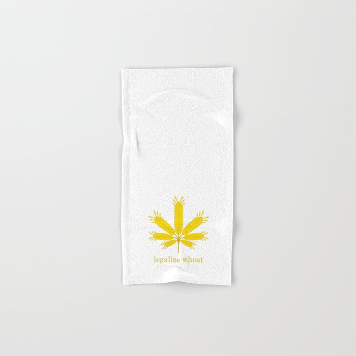 Legalize Wheat Hand & Bath Towel