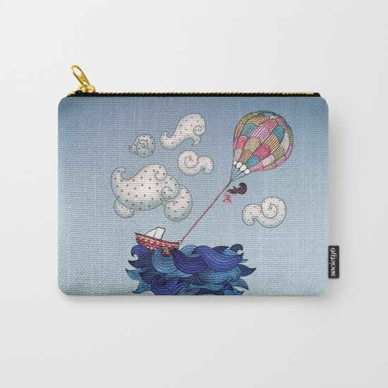 A Textured World Carry-All Pouch