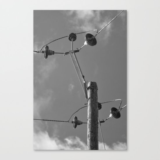 commune with the sky... Canvas Print