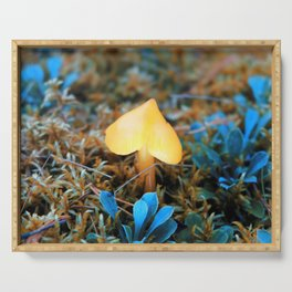 magic forest lamp Serving Tray
