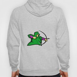 Medieval Archer Mascot Hoody