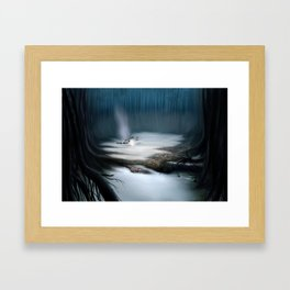 Swamps of Dagobah Framed Art Print