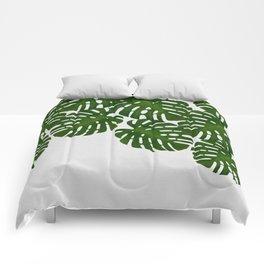 Monstera Leaf I Comforters