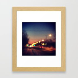Lighting up MTL Framed Art Print