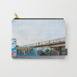 Chicago El and Mural Carry-All Pouch