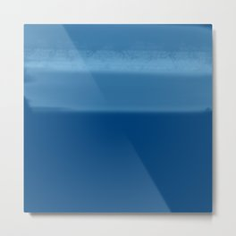Taped | Blue Metal Print