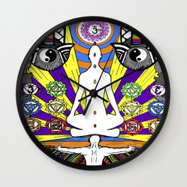 ENTER MY MIND Wall Clock