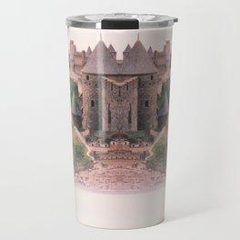Chateau Photographic Pattern #2 Travel Mug