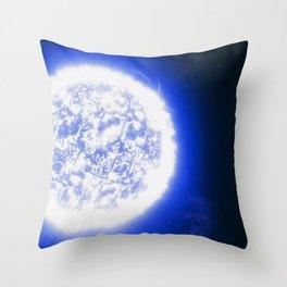 Endless White Throw Pillow
