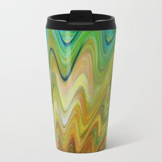 Magic Bloom Metal Travel Mug