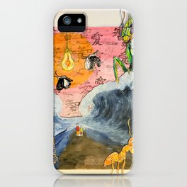 Hell and High Water iPhone Case