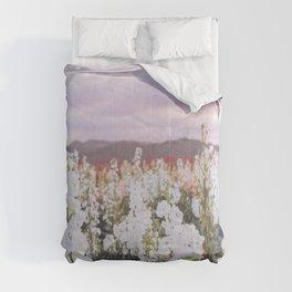 Lompoc Flower Field Comforters