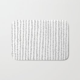 Zen Master asemic calligraphy for home & office decoration Bath Mat
