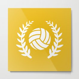 The Volleyball II Metal Print