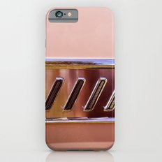 Pink Classic American Car iPhone 6s Slim Case