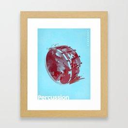Symphony Series: Percussion Framed Art Print