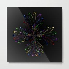 Abstract Perfektion 88 Metal Print