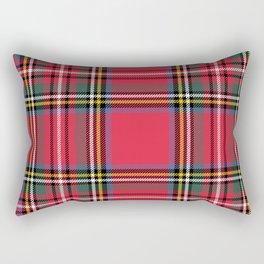 Red & Green Tartan Pattern Rectangular Pillow