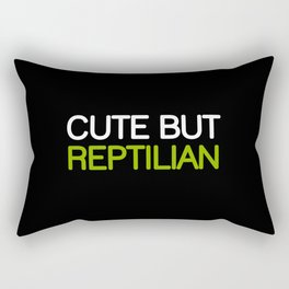 CUTE BUT REPTILIAN Rectangular Pillow