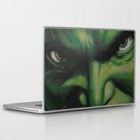 hulk Laptop & iPad Skins featuring Hulk by lyneth Morgan