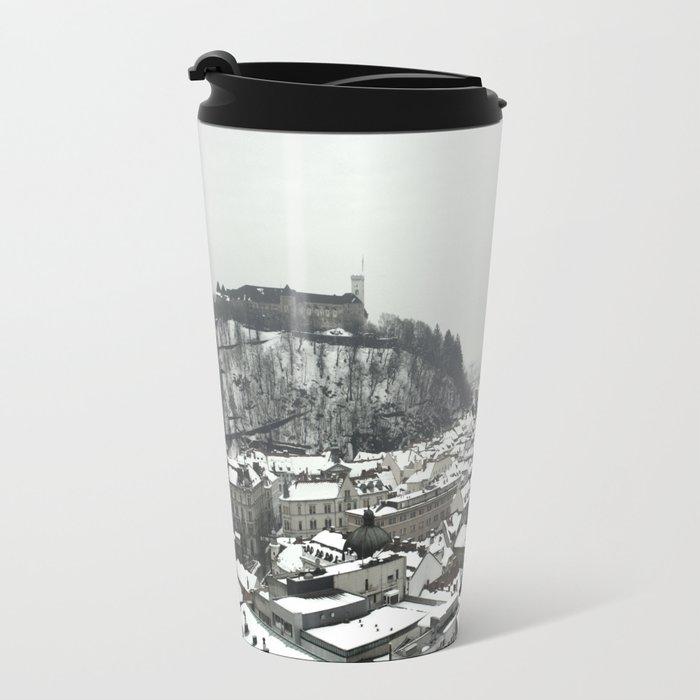 Ljubljana Slovenia Travel Mug