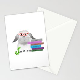 Peggy & The Bookworm Stationery Cards