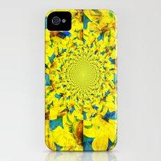 China Kat Sunflower iPhone (4, 4s) Slim Case
