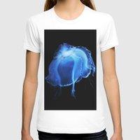 jelly fish T-shirts featuring Jelly Fish II by Kerri Ann Crau