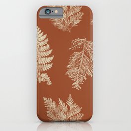 Hammond in Rust iPhone Case