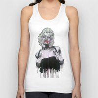 celebrity Tank Tops featuring Celebrity by R.A.Carrie