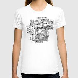 danger, danger, will robinson! T-shirt