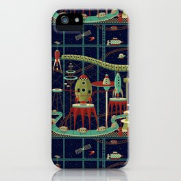 Fantastic Launch Station iPhone Case