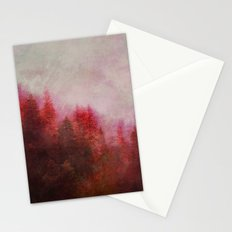 Dreamy Autumn Forest Stationery Cards