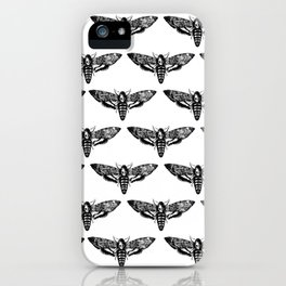 deathmoth iPhone Case
