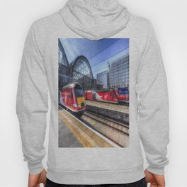 Kings Cross London Trains Hoody